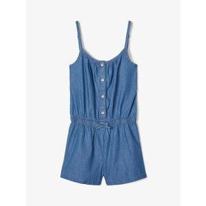 NAME IT meisjes jumpsuit medium blue denim