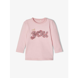 NAME IT meisjes longsleeve pink nectar