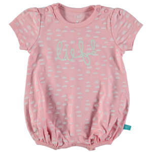 LIEF! LIFESTYLE meisjes romper candy pink aop