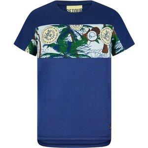 RETOUR DENIM DE LUXE jongens t-shirt midnight blue giovanni
