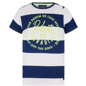 RETOUR DENIM DE LUXE jongens t-shirt midnight blue kristof