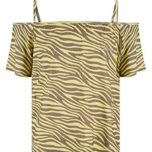 RETOUR DENIM DE LUXE meisjes t-shirt soft yellow deena