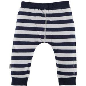 B.E.S.S. pants boy striped blue