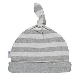 B.E.S.S. hat striped grey
