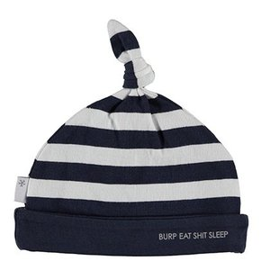 B.E.S.S. hat striped blue