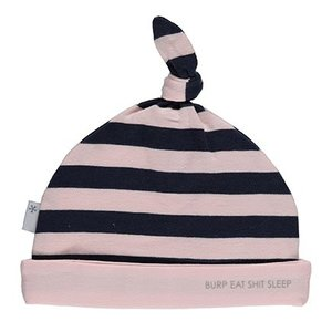 B.E.S.S. hat striped pink