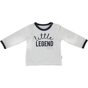B.E.S.S. unisex longsleeve little legend white