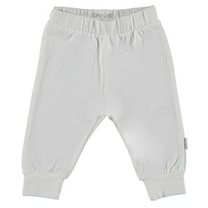 B.E.S.S. unisex joggingbroek white