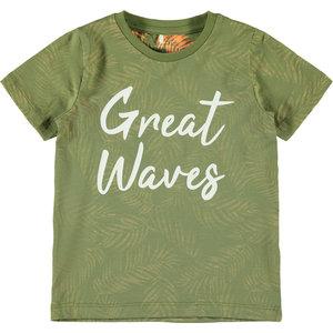 NAME IT jongens t-shirt loden green