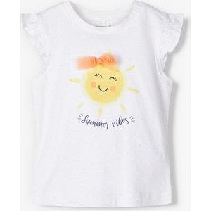 NAME IT meisjes t-shirt bright white