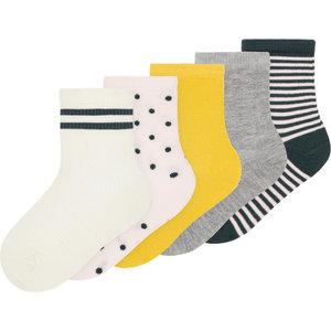 NAME IT meisjes 5-pack sokken pearl