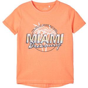 NAME IT Name It meisjes t-shirt cantaloupe