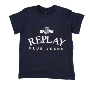 REPLAY jongens t-shirt navy