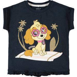 NAME IT meisjes t-shirt paw patrol dark sapphire