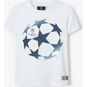 NAME IT jongens t-shirt champions league bright white
