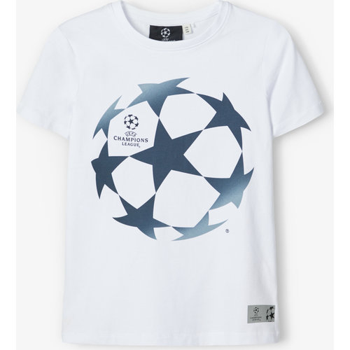 NAME IT NAME IT jongens t-shirt champions league bright white