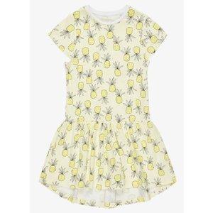 NAME IT meisjes jurk limelight pineapples