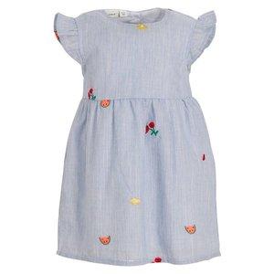 NAME IT meisjes jurk dazzling blue
