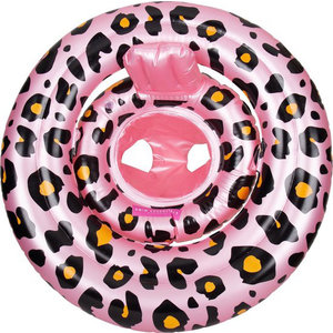 SWIM ESSENTIALS Swim essentials meisjes zwemzitje rosé goud panter