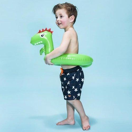 SWIM ESSENTIALS Swim essentials jongens zwemband groen dinosaurus