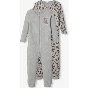 NAME IT jongens pyjama set grey melange