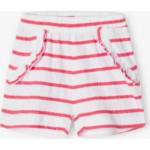 NAME IT meisjes korte broek claret red