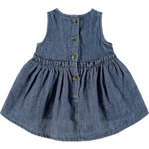 NAME IT meisjes jurk medium blue denim