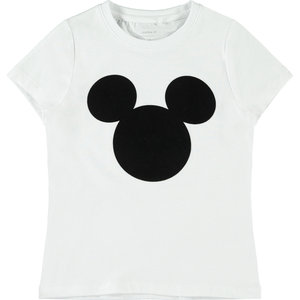 NAME IT meisjes t-shirt bright white disney