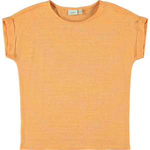 NAME IT meisjes t-shirt cantaloupe