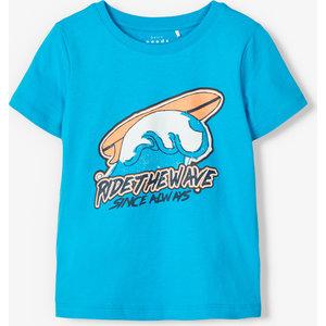 NAME IT jongens t-shirt hawaiian ocean
