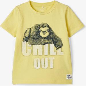 NAME IT jongens t-shirt limelight