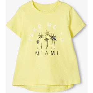 NAME IT meisjes t-shirt limelight