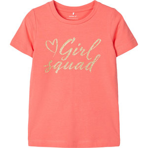 NAME IT meisjes t-shirt calypso coral