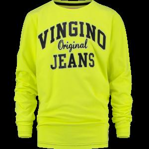 VINGINO VINGINO jongens longsleeve neon yellow heffity