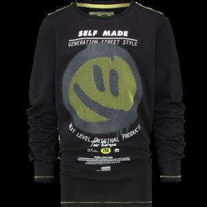 VINGINO VINGINO jongens t-shirt deep black julmo