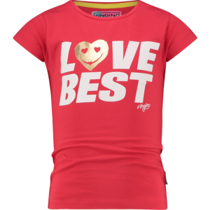 VINGINO VINGINO meisjes t-shirt red lollipop hinly