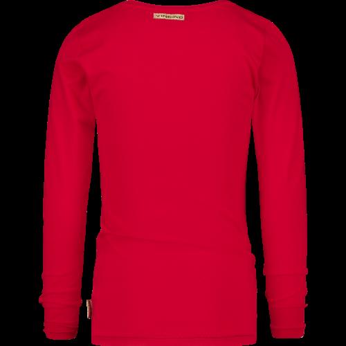 VINGINO VINGINO meisjes t-shirt red lollipop jolieke
