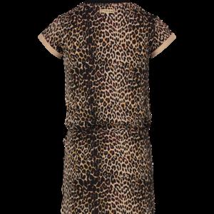 VINGINO VINGINO meisjes jurk multicolor brown polly