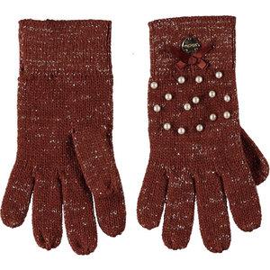 LE CHIC meisjes handschoenen cinnamon