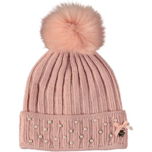 LE CHIC meisjes muts french rose