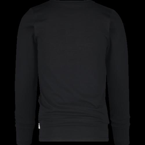 VINGINO VINGINO jongens t-shirt deep black jiro