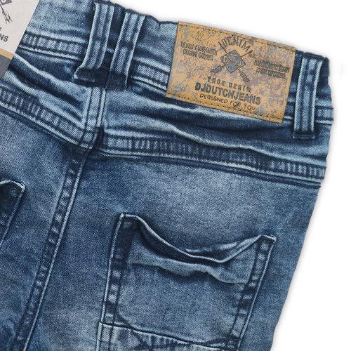 DJ DUTCHJEANS DJ DUTCHJEANS jongens broek blue jeans visit all cities don't stop