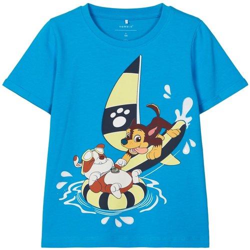 NAME IT Name It jongens t-shirt hawaiian ocean paw patrol