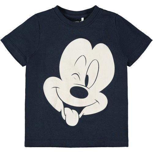 NAME IT Name It jongens t-shirt dark sapphire mickey disney
