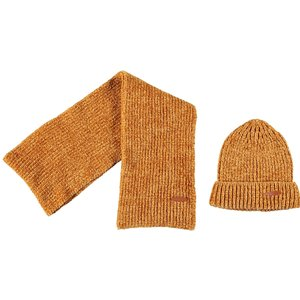 Nono meisjes sjaal met muts warm mustard nono