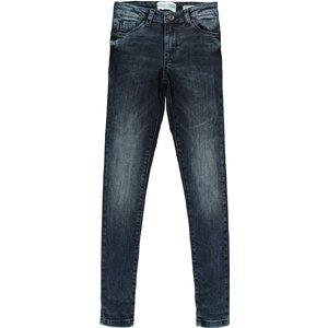 CARS JEANS meisjes super skinny jeans black blue otila