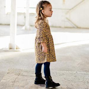 YOUR WISHES Your Wishes meisjes jurk leopard ochre