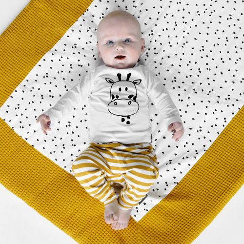 YOUR WISHES Your Wishes meisjes broek stripes ochre