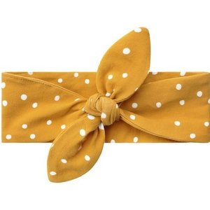 YOUR WISHES Your Wishes meisjes hoofdband dotted ochre