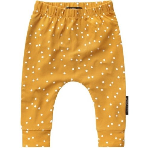 YOUR WISHES Your Wishes meisjes broek dotted ochre